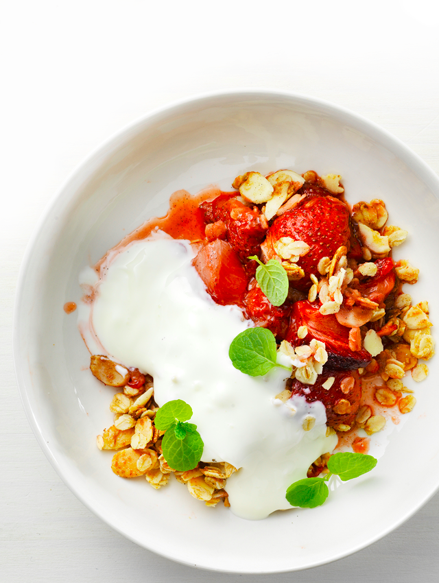 Strawberry & Almond & Oat Crumble - Green for all Seasons
